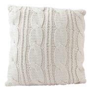 Sweater Knit Throw Pillow
