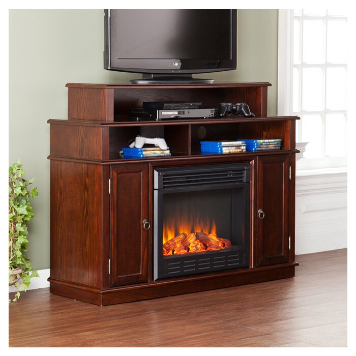 delaney 48 tv stand with fireplace  74831