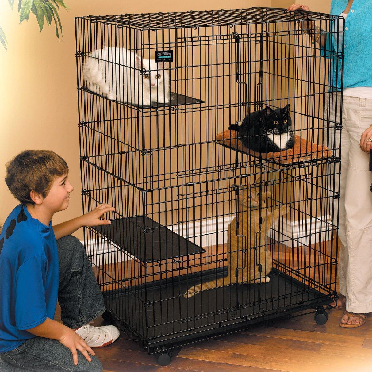 Клетка для кошки своими руками