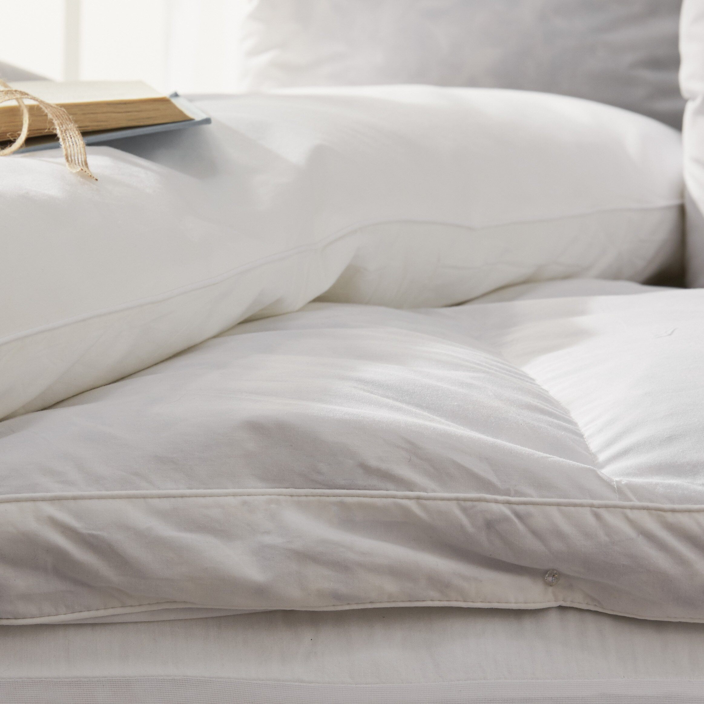 Old fashioned feather bed 48