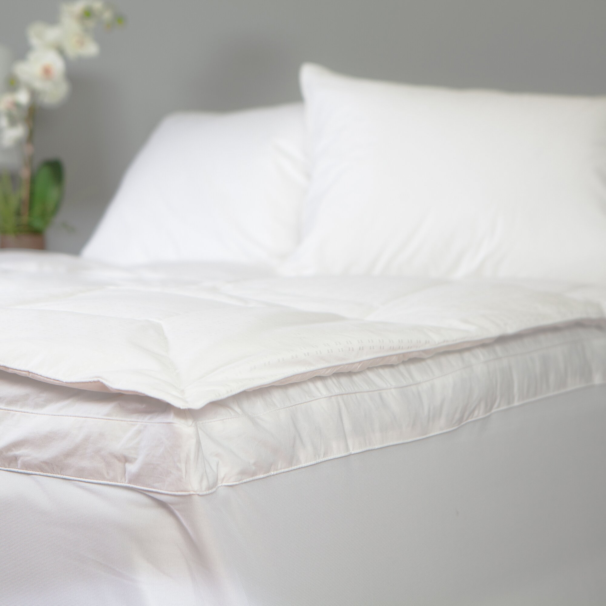 Old fashioned feather bed 52