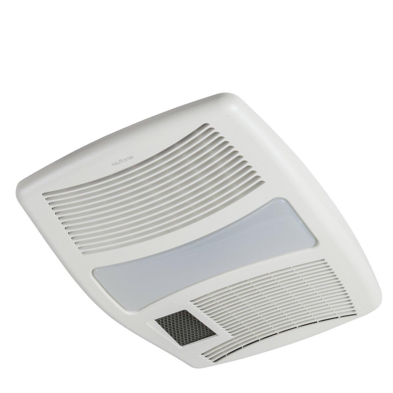 Bathroom fan heater light