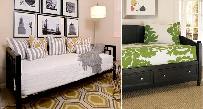Bedroom Layout With Daybed
