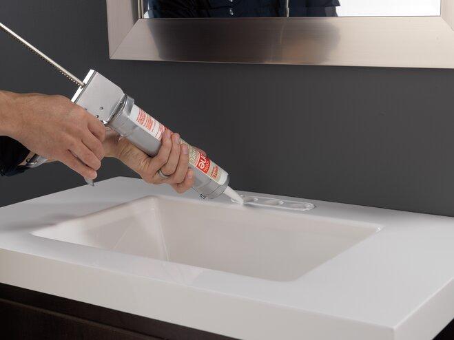 how to install a bathroom faucet wayfair. Black Bedroom Furniture Sets. Home Design Ideas