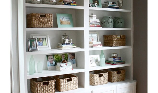 5 living room organization tips wayfair for Living room organization