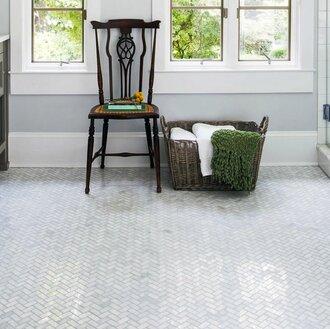 16 Bathroom Floors That Pull Off Pattern Wayfair