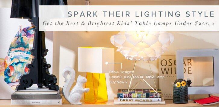 kids lighting allmodern all modern lighting