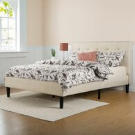 cody upholstered platform bed bed furniture image