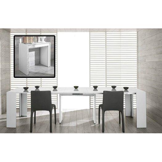 Vig Furniture Modrest Morph Ultra Compact Extendable Dining Table Reviews Allmodern