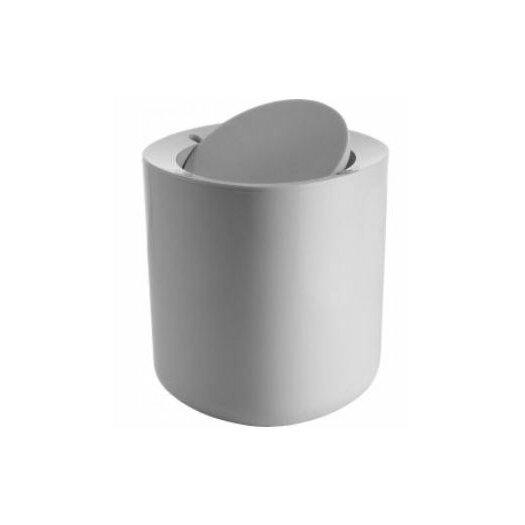 alessi birillo bathroom 1 gallon swing top plastic trash can reviews allmodern. Black Bedroom Furniture Sets. Home Design Ideas
