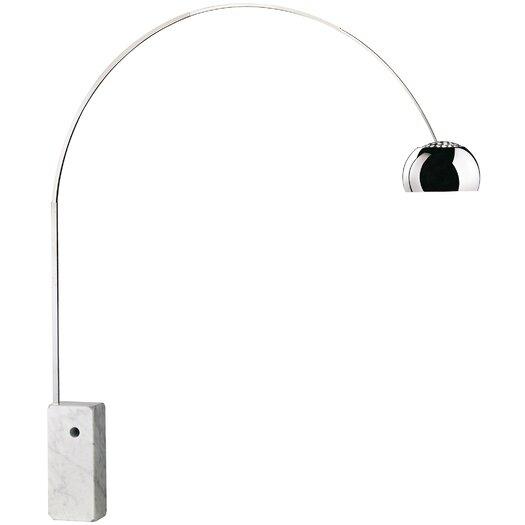 flos arco 95 arched floor lamp reviews allmodern. Black Bedroom Furniture Sets. Home Design Ideas