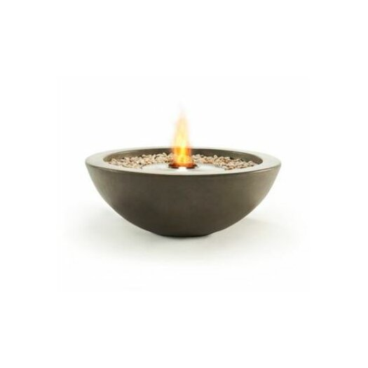 Ecosmart fire mix bowl bio ethanol tabletop fireplace for Bio ethanol fire pit