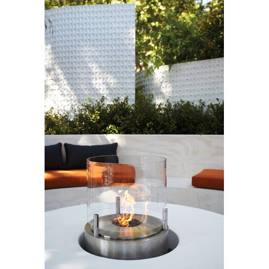 Ecosmart Fire Cyl Bio Ethanol Tabletop Fireplace Allmodern