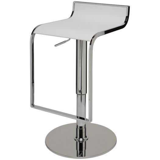 Nuevo Alexander Adjustable Height Swivel Bar Stool