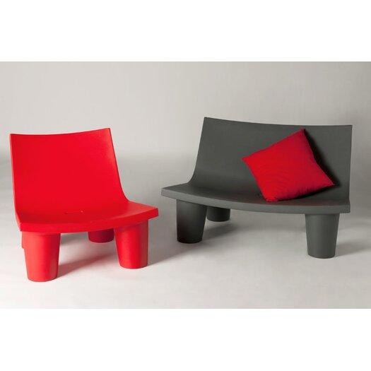 Slide design low lita board chair reviews allmodern for Chaise basse design