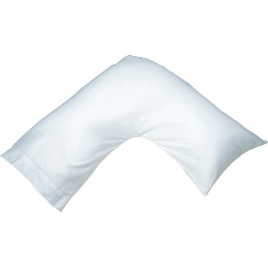 Bed Throw Pillow Placement : Simmons Beautyrest Position Boomerang Polyfill Body Pillow & Reviews AllModern