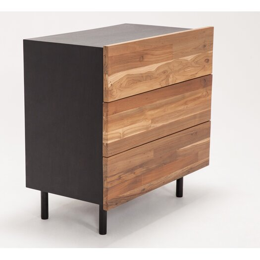 Eq3 3 Drawer Dresser Allmodern