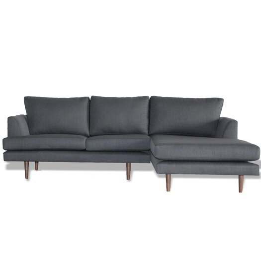 bobby berk home charlie reversible chaise sectional. Black Bedroom Furniture Sets. Home Design Ideas