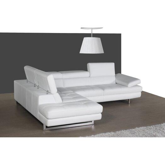 J M Furniture Matera Sectional Reviews Allmodern