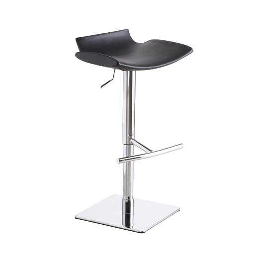 J M Furniture Adjustable Height Swivel Bar Stool Reviews Allmodern