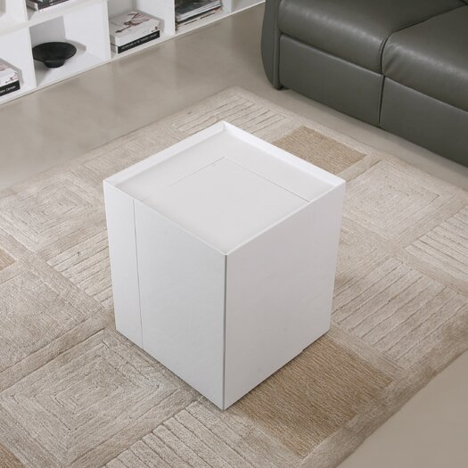 J M Furniture Modern End Table Reviews Allmodern