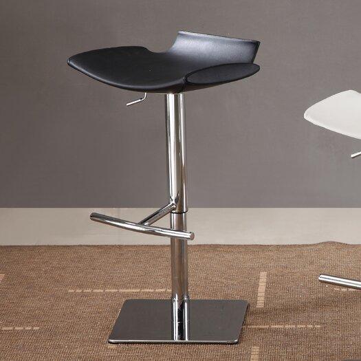 J Amp M Furniture Adjustable Height Swivel Bar Stool Amp Reviews