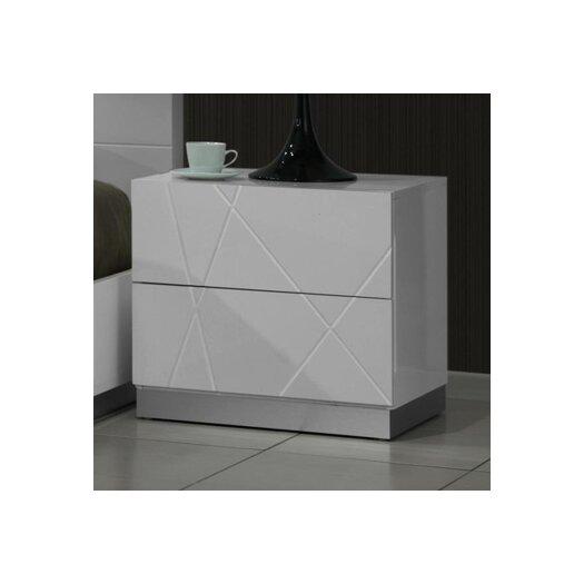J M Furniture Naples 2 Drawer Nightstand Reviews Allmodern