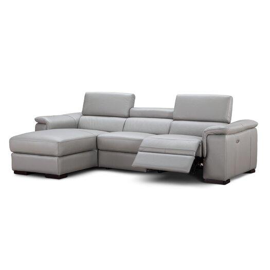 J M Furniture Alba Sectional Reviews Allmodern