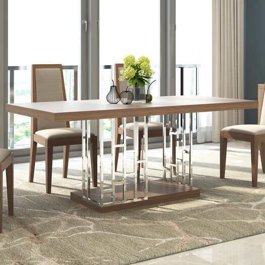 J m furniture astor dining table allmodern for Astor dining table