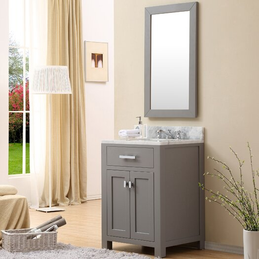 Dcor Design Creighton 24 Single Sink Bathroom Vanity Set With Mirror Allmodern