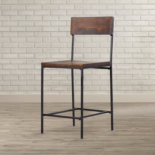Mercury Row Xenia 24 Quot Bar Stool Amp Reviews Allmodern