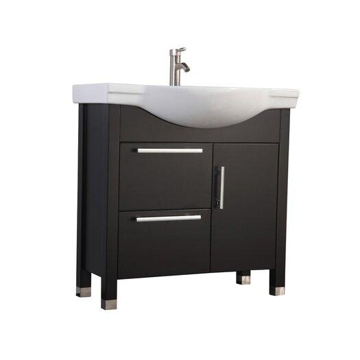 mtdvanities peru 36 quot single sink bathroom vanity set with