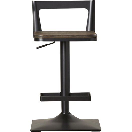 Wade Logan Ingram Adjustable Height Swivel Bar Stool
