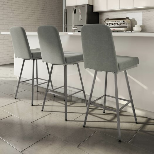 Latitude Run Mesic 26 Quot Swivel Bar Stool Amp Reviews Allmodern