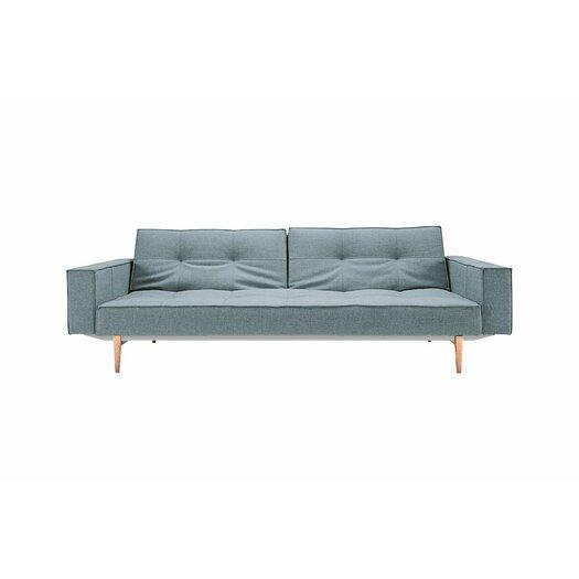 innovation living inc split back sleeper sofa reviews allmodern. Black Bedroom Furniture Sets. Home Design Ideas