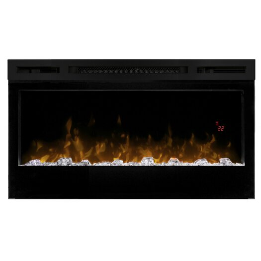 Dimplex Prism Wall Mount Electric Fireplace Reviews Allmodern