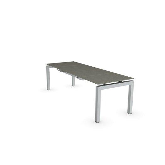 Calligaris airport rectangular counter height extendable for Counter height extendable dining table