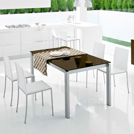Calligaris baron extendable dining table reviews allmodern for Calligaris baron table