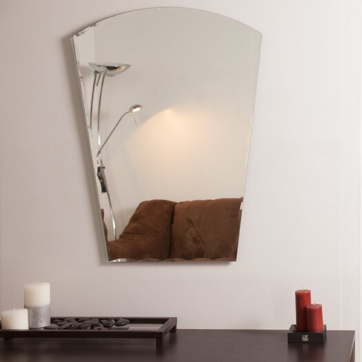 Decor wonderland paris modern wall mirror reviews for All modern accessories