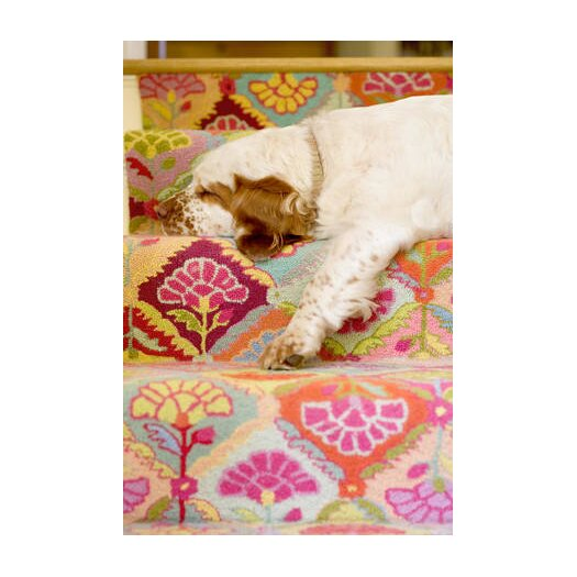 Dash and albert rugs hooked area rug reviews allmodern for Dash and albert blankets