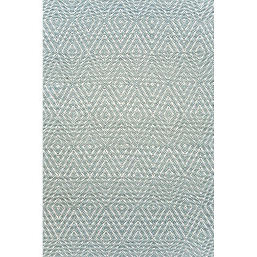 Dash and albert rugs diamond hand woven blue indoor for Dash and albert blankets