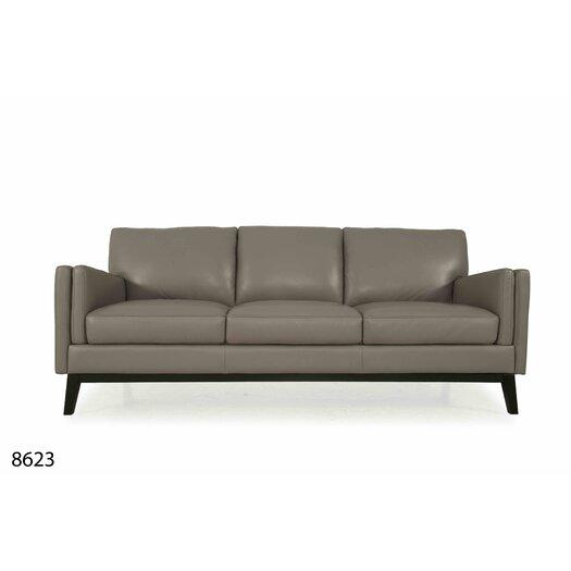 Moroni Osman Full Top Grain Leather Sofa Allmodern
