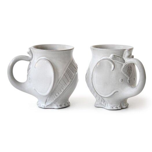 Jonathan adler utopia elephant 12 oz coffee mug reviews allmodern - Jonathan adler elephant mug ...