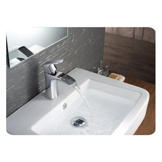 Fresca Fortore Single Handle Deck Mount Vanity Faucet Reviews Allmodern