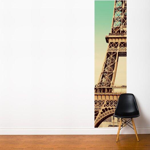 Adzif fresk eiffel tower wall mural allmodern for Eiffel tower wall mural ikea