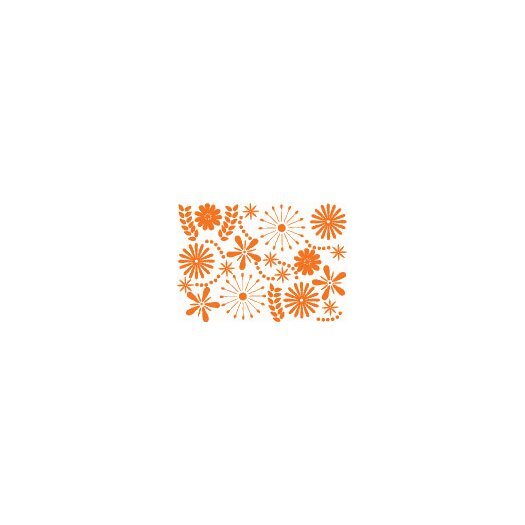Ado Flower Power Wall Decal by Anne Cahsens for ADZif