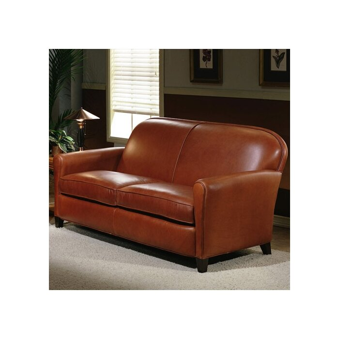 Omnia Leather Buenos Aires 2 Seat Leather Loveseat Set Reviews Wayfair