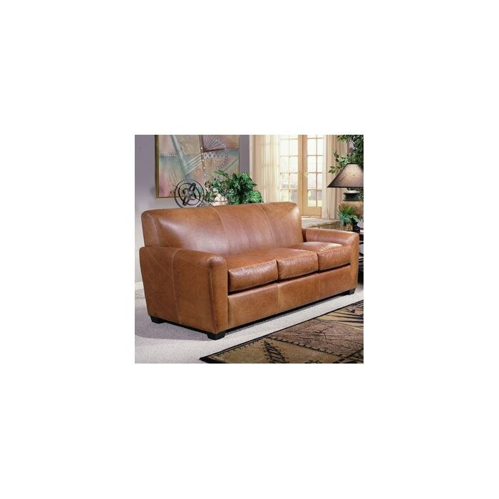 Omnia Leather Jackson Leather Sofa Set & Reviews