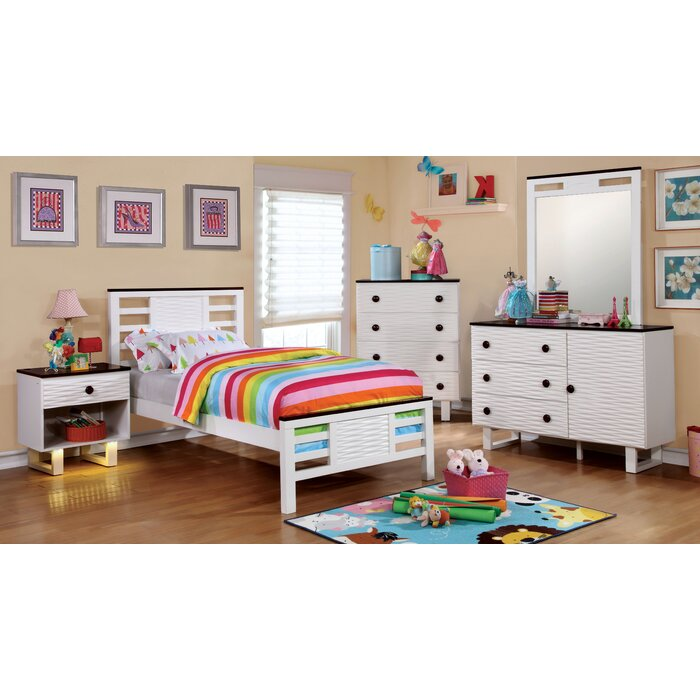 Enitial Lab Calset Panel Customizable Bedroom Set