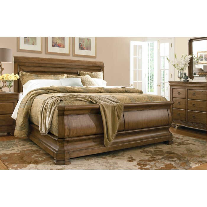 Universal Furniture New Lou Sleigh Customizable Bedroom Set
